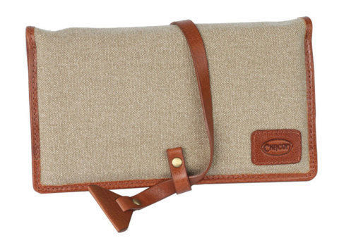 Tobacco Pouches CHACOM Roll up Pouch for 2 pipes with pouch CC023 - Leather&Canvas