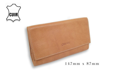 Tobacco Pouches CHACOM Tobacco Pouch CC015 - Light Brown