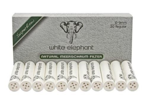 Consommables Filtres 9mm Ecume White Elephant - WE20NM9S