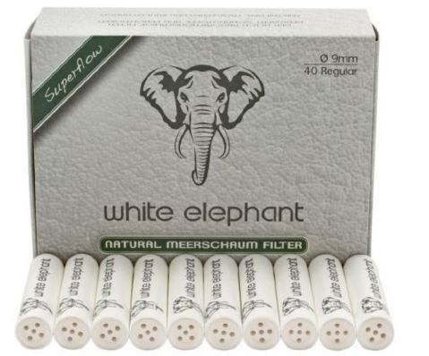Consommables Filtres 9mm écume White Elephant - WE40NM9S