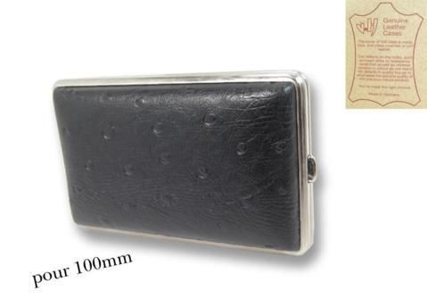 Cigarette Cases Leather 100'S cigarette case CC087