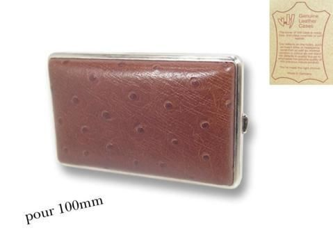 Cigarette Cases Leather 100'S cigarette case CC088