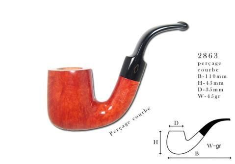 Stand up Pipe BREBBIA Stand Up Naturelle 2863