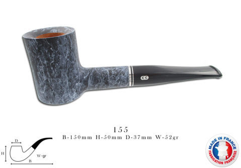 ATLAS ROUGE Pipe CHACOM Atlas marbre n°155