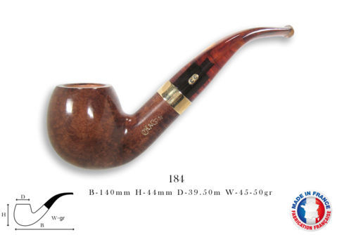 CHURCHILL UNIE Pipe CHACOM Churchill n°184