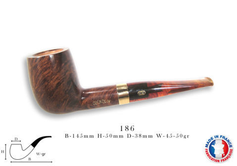 CHURCHILL UNIE Pipe CHACOM Churchill n°186