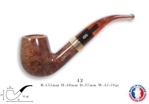 CHURCHILL UNIE Pipe CHACOM Churchill n°42