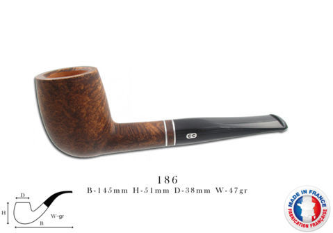 Pipe CHACOM Complice n°186
