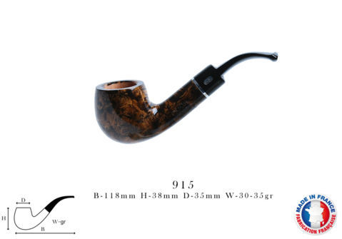 Lizzy Pipe CHACOM Lizzy N°915