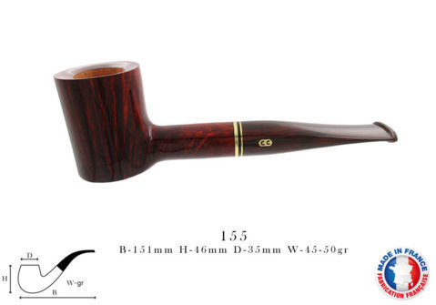 Pipe CHACOM Montbrillant N°155