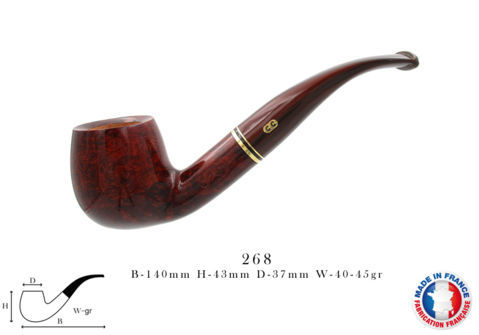 Pipe CHACOM Montbrillant N°268