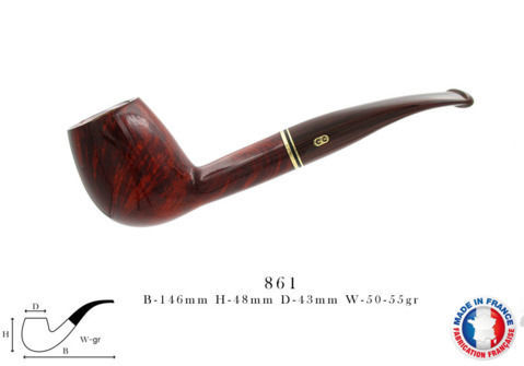 Pipe CHACOM Montbrillant N°861