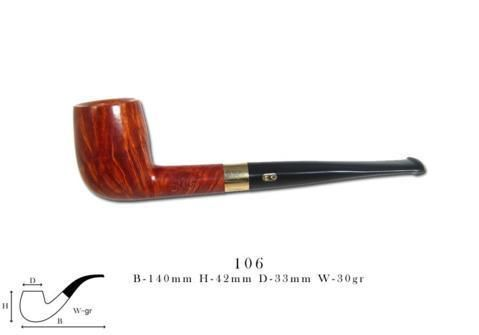 Old Briar Pipe CHACOM Old Briar 106 Naturelle