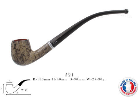 Opéra Pipe CHACOM Opéra taupe n°521