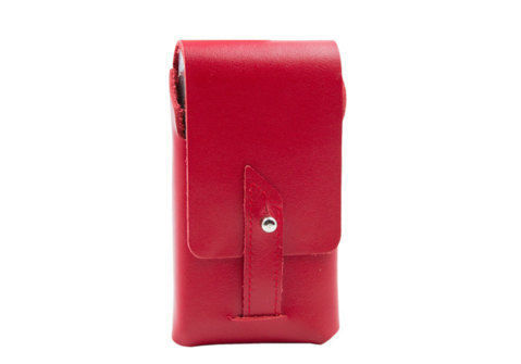 Cigarette Cases Slim cigarette package CC045 red
